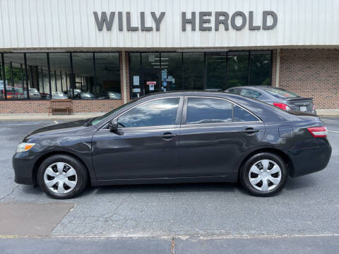 2010 Toyota Camry for sale at Willy Herold Automotive in Columbus GA