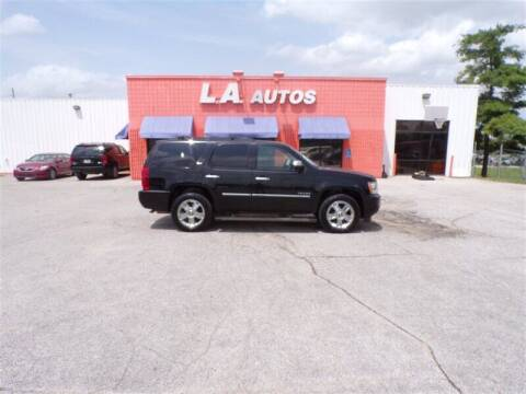 2010 Chevrolet Tahoe for sale at L A AUTOS in Omaha NE