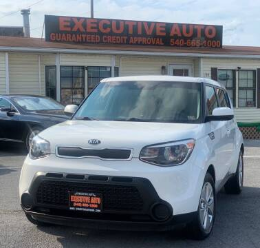 2016 Kia Soul for sale at Executive Auto in Winchester VA