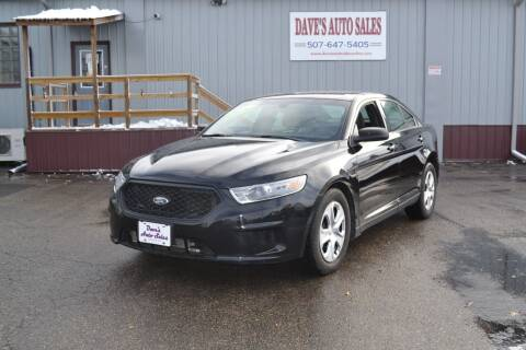 2013 Ford Taurus for sale at Dave's Auto Sales in Winthrop MN