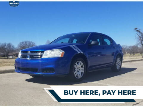 2013 Dodge Avenger for sale at Stanley Direct Auto in Mesquite TX
