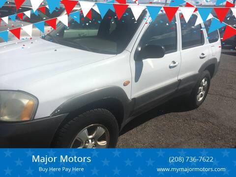 2001 Mazda Tribute for sale at Major Motors in Twin Falls ID