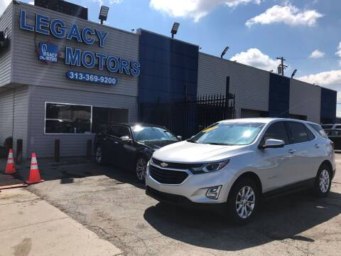 2018 Chevrolet Equinox for sale at Legacy Motors in Detroit MI