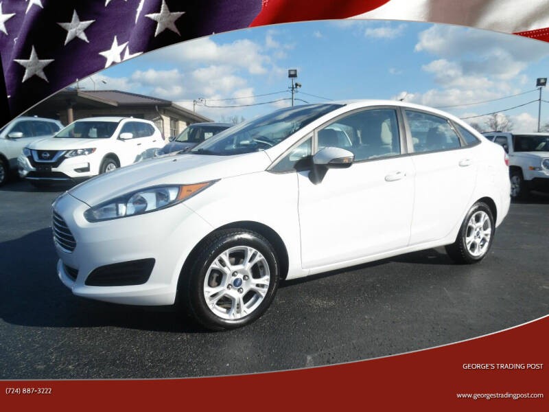2014 Ford Fiesta for sale at GEORGE'S TRADING POST in Scottdale PA
