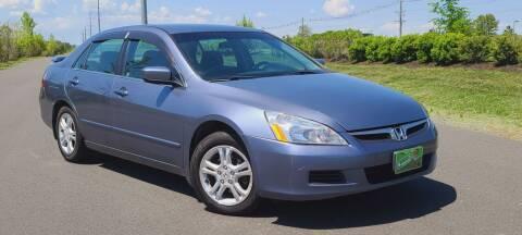 2007 Honda Accord for sale at BOOST MOTORS LLC in Sterling VA