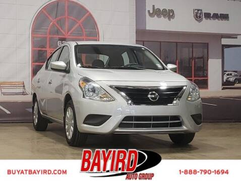 2018 Nissan Versa for sale at Bayird Truck Center in Paragould AR