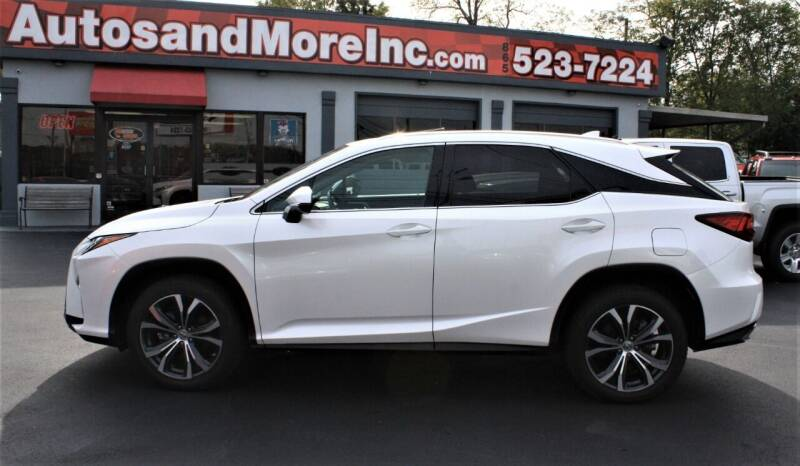 2017 Lexus RX 350 for sale at Autos and More Inc in Knoxville TN