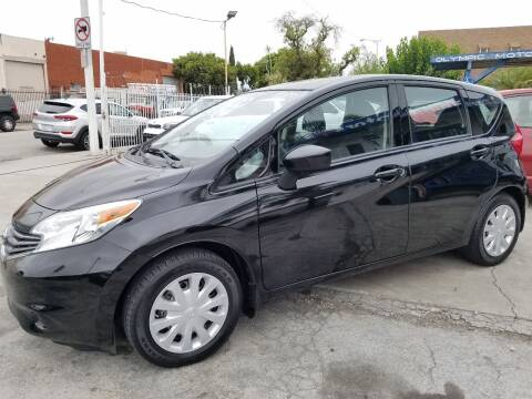 2015 Nissan Versa Note for sale at Olympic Motors in Los Angeles CA