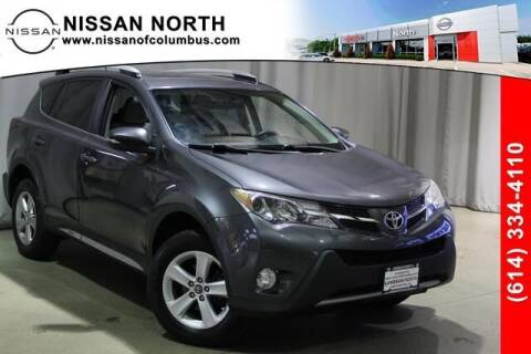 2015 Toyota RAV4 for sale at Auto Center of Columbus in Columbus OH