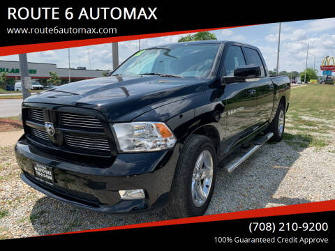 2012 RAM Ram Pickup 1500 for sale at ROUTE 6 AUTOMAX in Markham IL