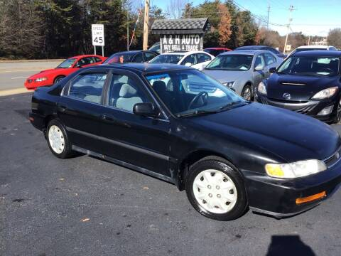 1997 Honda Accord for sale at A & H Auto Sales in Greenville SC