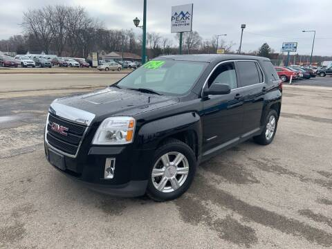 2014 GMC Terrain for sale at Peak Motors in Loves Park IL