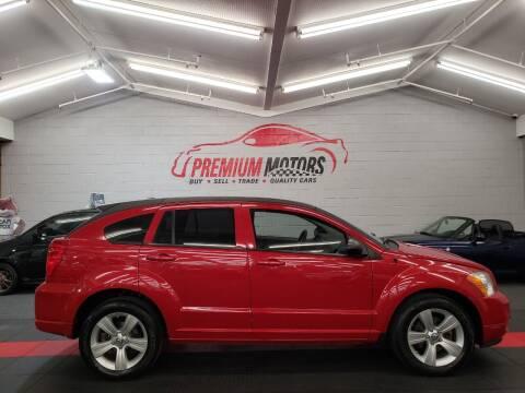 2012 Dodge Caliber for sale at Premium Motors in Villa Park IL