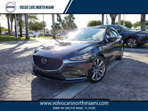 2018 Mazda MAZDA6 for sale at Volvo Cars North Miami in Miami FL
