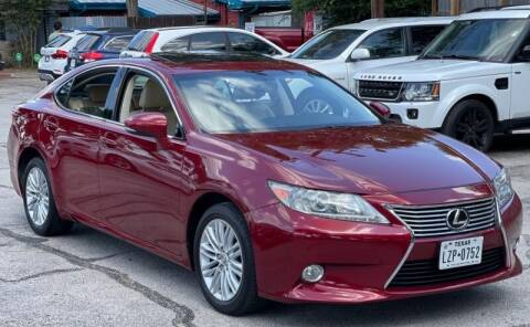 2013 Lexus ES 350 for sale at AWESOME CARS LLC in Austin TX