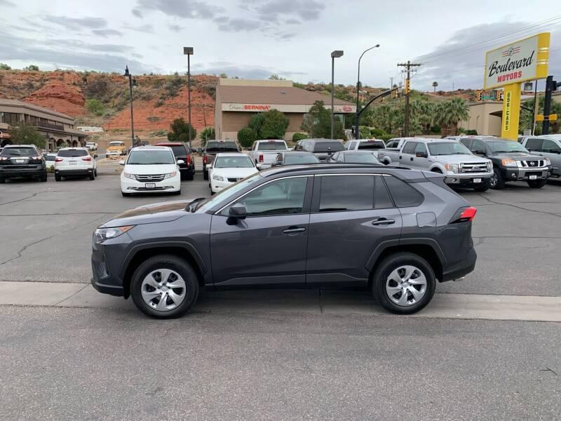 2021 Toyota RAV4 for sale at Boulevard Motors in Saint George UT