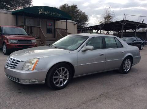 2007 Cadillac DTS for sale at OASIS PARK & SELL in Spring TX