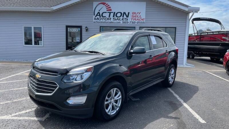 2017 Chevrolet Equinox for sale at Action Motor Sales in Gaylord MI