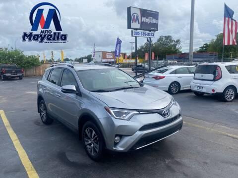 2016 Toyota RAV4 for sale at Auto Mayella in Miami FL
