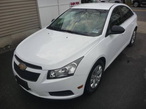 2012 Chevrolet Cruze for sale at Pinto Automotive Group in Trenton NJ