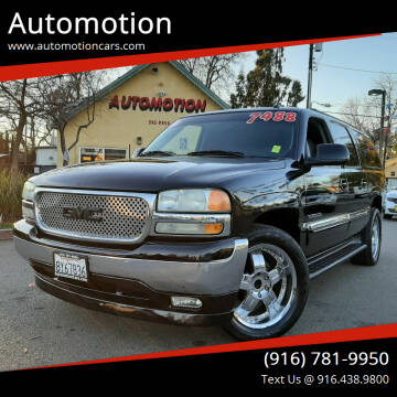 2005 GMC Yukon XL for sale at Automotion in Roseville CA