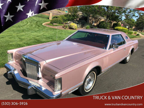 1977 Lincoln Mark V for sale at Truck & Van Country in Shingle Springs CA