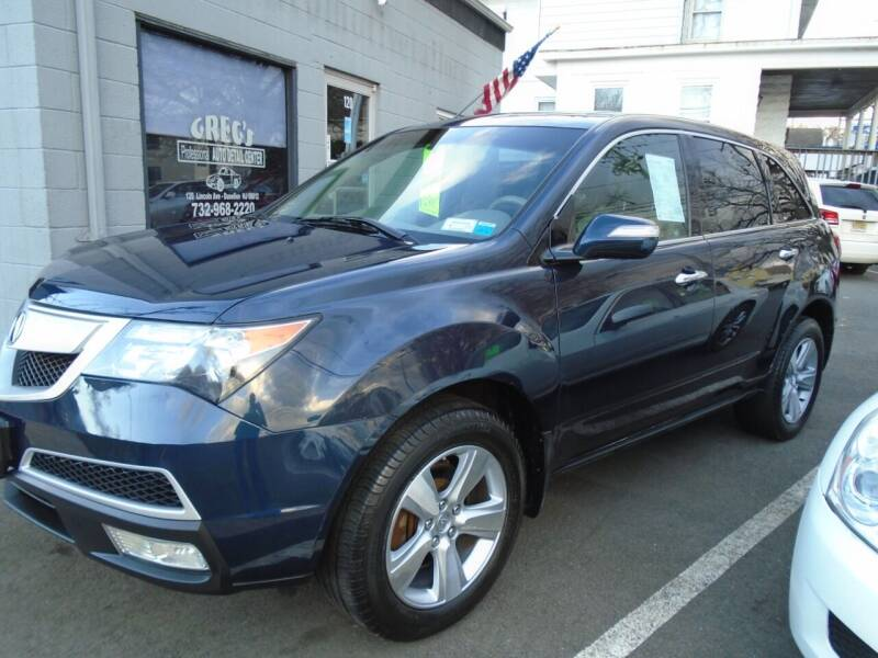 2010 Acura MDX for sale at Greg's Auto Sales in Dunellen NJ