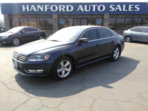 2015 Volkswagen Passat for sale at Hanford Auto Sales in Hanford CA