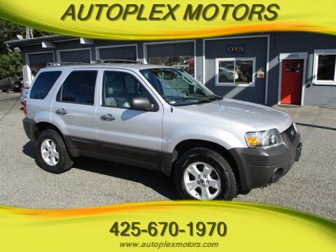 2006 Ford Escape for sale at Autoplex Motors in Lynnwood WA