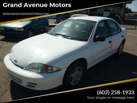 2002 Chevrolet Cavalier for sale at Grand Avenue Motors in Phoenix AZ