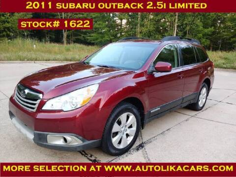 2011 Subaru Outback for sale at Autolika Cars LLC in North Royalton OH