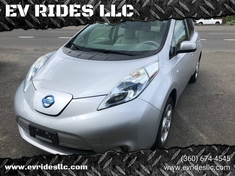 2012 Nissan LEAF for sale at EV RIDES LLC in Portland OR