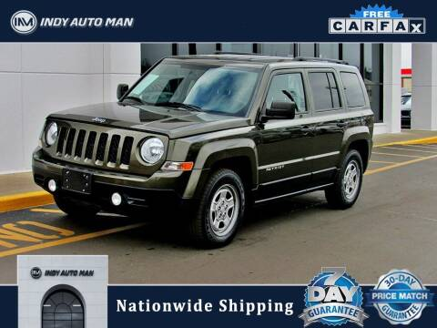 2015 Jeep Patriot for sale at INDY AUTO MAN in Indianapolis IN