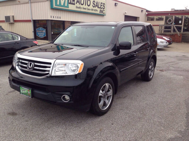 2015 Honda Pilot for sale at MR Auto Sales Inc. in Eastlake OH