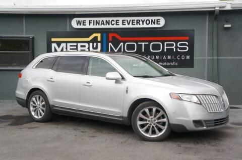 2012 Lincoln MKT for sale at Meru Motors in Hollywood FL