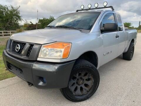 2008 Nissan Titan for sale at Deerfield Automall in Deerfield Beach FL