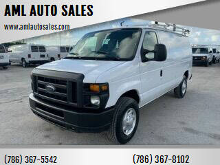 2013 Ford E-Series Cargo for sale at AML AUTO SALES - Cargo Vans in Opa-Locka FL