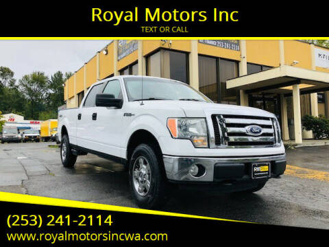 2010 Ford F-150 for sale at Royal Motors Inc in Kent WA