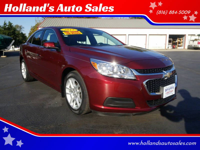 2015 Chevrolet Malibu for sale at Holland's Auto Sales in Harrisonville MO