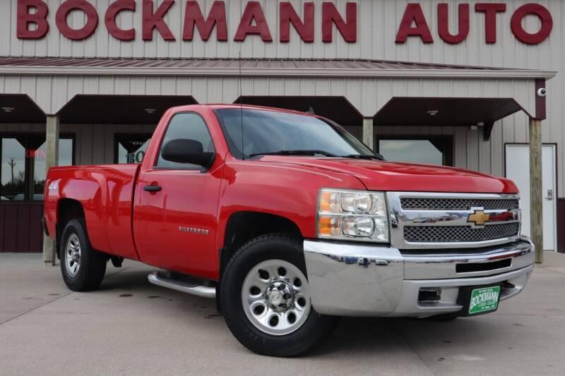 2012 Chevrolet Silverado 1500 for sale at Bockmann Auto Sales in St. Paul NE