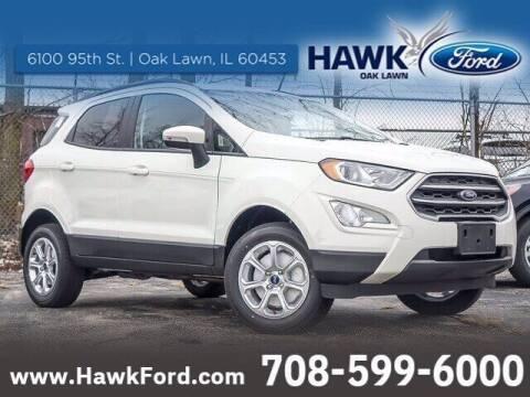 2020 Ford EcoSport for sale at Hawk Ford of Oak Lawn in Oak Lawn IL