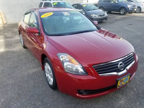 2009 Nissan Altima for sale at Fortier's Auto Sales & Svc in Fall River MA