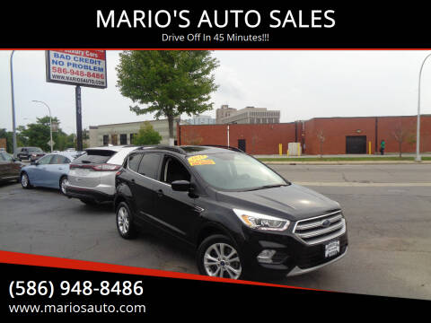 2017 Ford Escape for sale at MARIO'S AUTO SALES in Mount Clemens MI