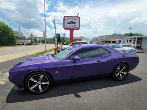 2016 Dodge Challenger for sale at Ford's Auto Sales in Kingsport TN