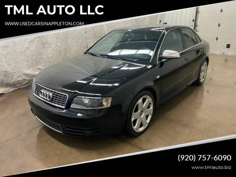 2004 Audi S4 for sale at TML AUTO LLC in Appleton WI
