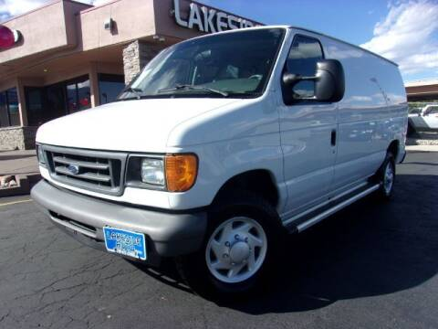 2007 Ford E-Series Cargo for sale at Lakeside Auto Brokers in Colorado Springs CO