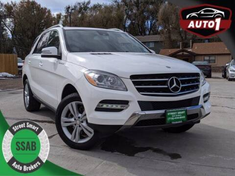 2015 Mercedes-Benz M-Class for sale at Street Smart Auto Brokers in Colorado Springs CO