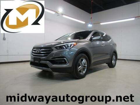2017 Hyundai Santa Fe Sport for sale at Midway Auto Group in Addison TX