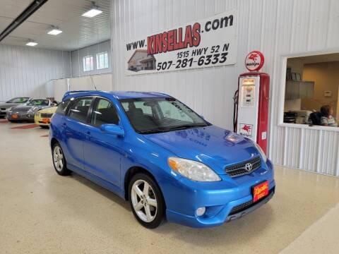 2007 Toyota Matrix for sale at Kinsellas Auto Sales in Rochester MN