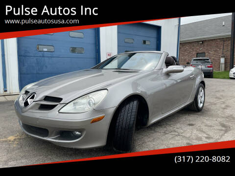 2007 Mercedes-Benz SLK for sale at Pulse Autos Inc in Indianapolis IN